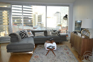 1 bedroom and own bath in 2 bed 2 bath downtown condo on 104 st