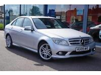2009 MERCEDES BENZ C CLASS C220 CDI Sport Auto F LEATHER and 17andquot; ALLOYS