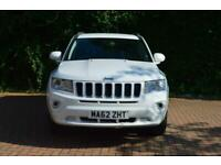 2012 Jeep Compass 2.4 Limited CVT 4WD 5dr SUV Petrol Automatic