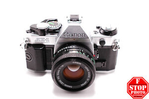 Canon AE-1 Program with Canon FD 50mm f1.8 Lens