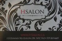 H Salon is hiring FT/PT