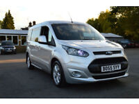 2015 FORD TRANSIT CONNECT 1.6 TDCI TURBO DIESEL MANUAL 7 SEATER NO VAT GALAXY