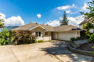 122 Reservoir Rd, Enderby - EXECUTIVE HOME WITH CLIFF VIEW!