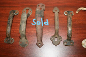 Antique/Vintage Exterior Door Handle Pulls - $5 EACH