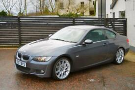 2007 BMW E92 330D M SPORT COUPE SPARKLING GRAPHITE FBMWSH 4 KEYS 2 OWNERS 19""