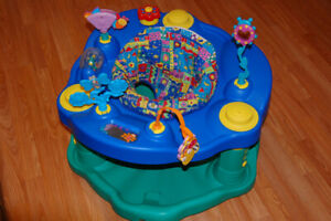 Baby Items..Exersaucer , play mat , sling chair