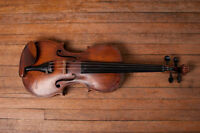 Violin and Piano Lessons!