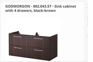 For Sale: New in Box  Ikea Bathroom vanity cabinet (4 Drawers)