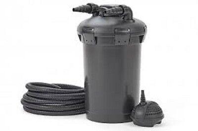 Pontec PondoPress 15000 Pressurised Pond Filter and Pump Set