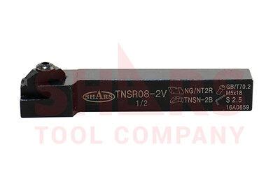 Shars 12 X 3.5 Tnsr 08-2v Notch Threading Grooving Tool Holder New