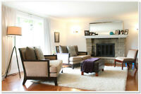FURNISHED: Amazing West Island home, Pool, Awesome location