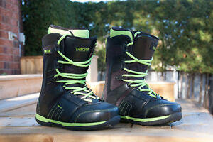 Men's Ride Snowboard Boots - size 9