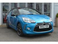 2012 CITROEN DS3 1.6 VTi 16V DStyle Plus 3dr