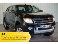 2014 64 FORD RANGER 2.2 LIMITED 4X4 DCB TDCI 1D 148 BHP DIESEL