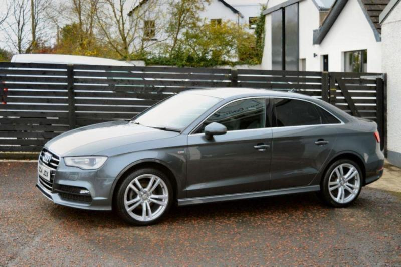 2014 audi a3 s line tdi saloon daytona grey fash in ballymoney county antrim gumtree. Black Bedroom Furniture Sets. Home Design Ideas