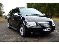 2006 CHRYSLER GRAND VOYAGER V6 AUTOMATIC LIMITED STOW N GO 7 SEATER PX SWAP