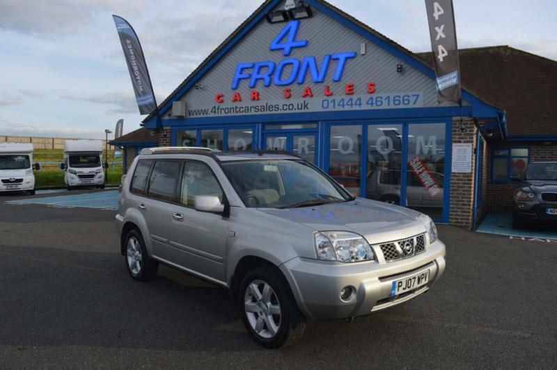 2007 NISSAN X-TRAIL COLUMBIA DCI 2.2 DIESEL MANUAL 5 DOOR 4X4 4X4 DIESEL