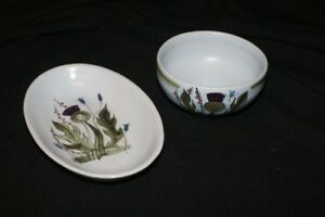 ANTIQUE THISTLEWARE BOWL & DISH