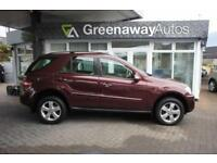 2008 MERCEDES M-CLASS ML320 CDI SE STUNNING EXAMPLE ESTATE DIESEL