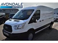 2015 FORD TRANSIT 350 TREND L3 H2 VAN WITH SAT NAV AND AIR-CON RARE PANEL VAN D