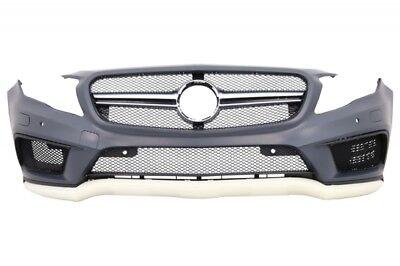 Paraurti Anteriore Per Mercedes Classe GLA X156 14-16 GLA Look Griglia Splitter