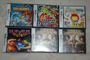 18 DS games for sale or trade
