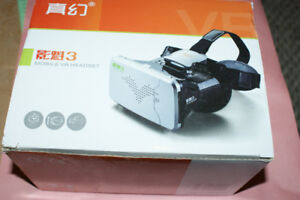 Mobile VR headset for smart phones