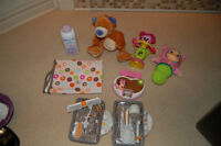 Toys, Change Mat, Safety Kit