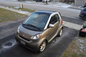 2009 Smart Fortwo Passion Coupe Under 100,000km Leather, Sunroof