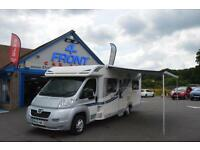 2012 BAILEY APPROACH 745 2.2 DIESEL MANUAL 4 BERTH 6 SEATS 3 DOOR MOTORHOME MOTO