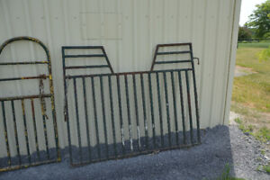 Horse Stall Gates for 4 ft. Opening. Solid in good condtion