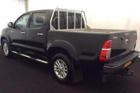 2014 BLACK TOYOTA HILUX 3.0 D-4D INVINCIBLE 4WD CREW CAB CAR FINANCE FR 71 PW