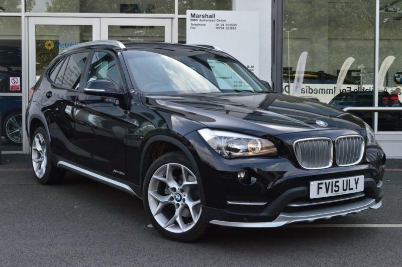 2015 bmw x1 e84 xdrive20d xline n47 2 0 diesel black. Black Bedroom Furniture Sets. Home Design Ideas