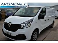 2015 RENAULT TRAFIC LL29 LWB BUSINESS PLUS ENERGY VAN WITH SAT NAV PANEL VAN DI
