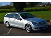 MERCEDES C CLASS C200 CDI Executive SE 5dr AUTOMATIC ESTATE LOW MILEAGE