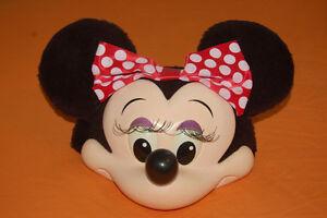 Minnie Mouse Disney 3D Halloween Costume Face Ball Cap