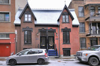 STUNNING HERITAGE HOME, 5 BDR, 2 BATHS, CLOSE TO MCGILL