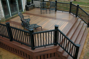 Deck Installations, Repairs, Replacements  -Discounted Price