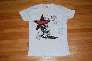 sam roberts signed shirt