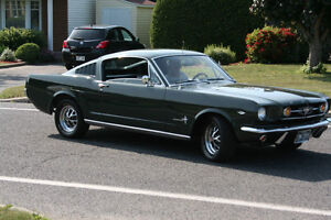 1965 2+2 MUSTANG FASTBACK