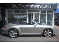 2007 PORSCHE 911 CARRERA 4 S RARE MANUAL CAB CONVERTIBLE PETROL