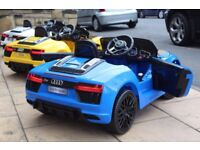 Audi R8 12v Parental Remote & Self Drive