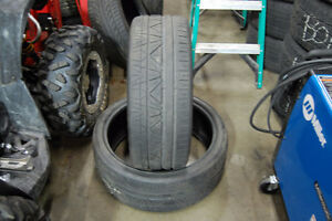 $100 each 255/35/ZR22 NITTO INVO 2 ONLY!