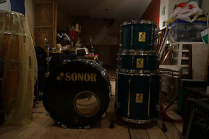 Battrerie drum Sonor force 3000 Germany