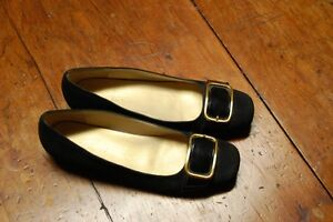 Talbots black suede flats Kitchener / Waterloo Kitchener Area image 2