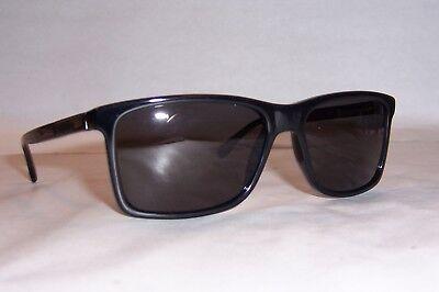 NEW HUGO BOSS Sunglasses 0704/P/S ANS-M9 BLACK/GRAY POLARIZED AUTHENTIC (Hugo Boss Wayfarer Sunglasses)