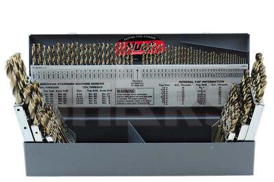 115 Pcs M35 116 12 Az 160 Jobber Drill Set With Hout Index Box 325.10 Off
