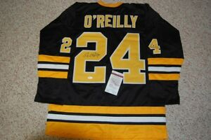 SIGNED JERSEYS - BUCYK,  HALL,  O'REILLY - with COA's
