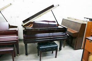 Excellent Condition Hoffmann & Kuhne Baby Grand Piano