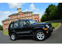 2007 Jeep Cherokee 2.8 CRD Limited+FSH+TIMING BELT CHANGED+HTD LEATHER+PX 2 CLEA